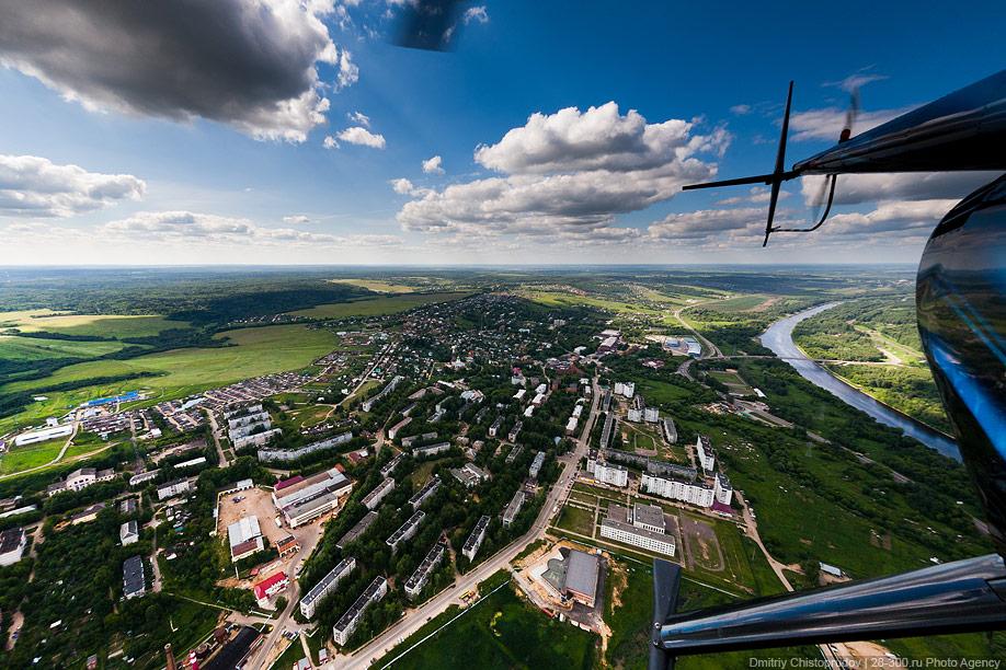 5. Развязка Новорижского шоссе и Малого бетонного кольца, вид в сторону Волоколамска.