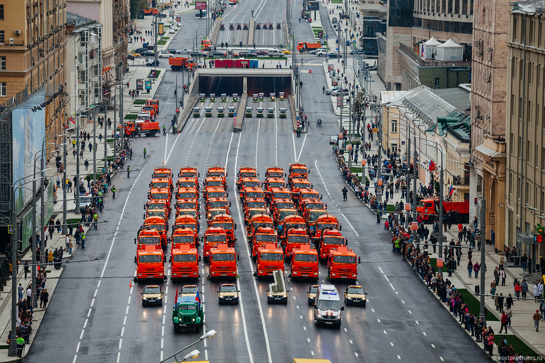Московский парад техники