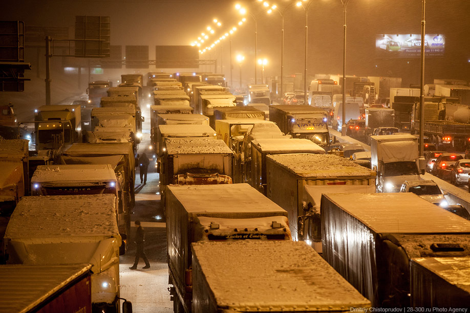 С 1 марта МКАД закрывают для грузовиков. Что думаете?
