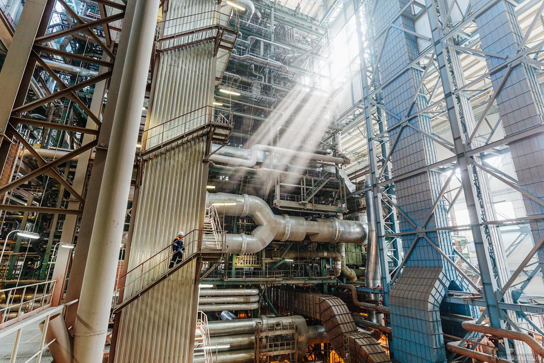 Черепетская ГРЭС. Как выглядит современная угольная электростанция.