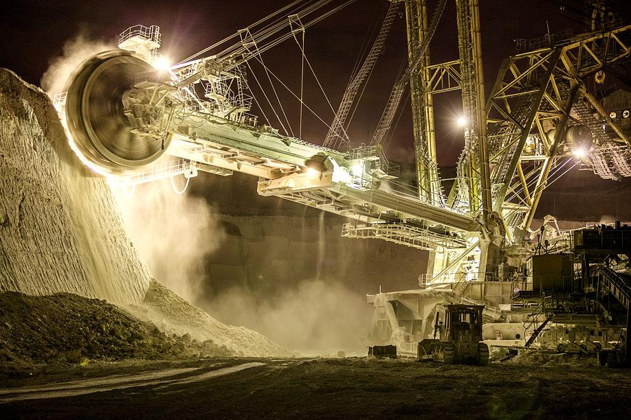 Горно-вскрышной комплекс Стойленского ГОКа