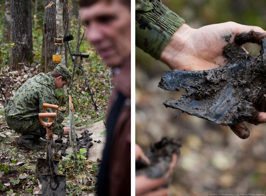 Как ведут поиски останков советских солдат