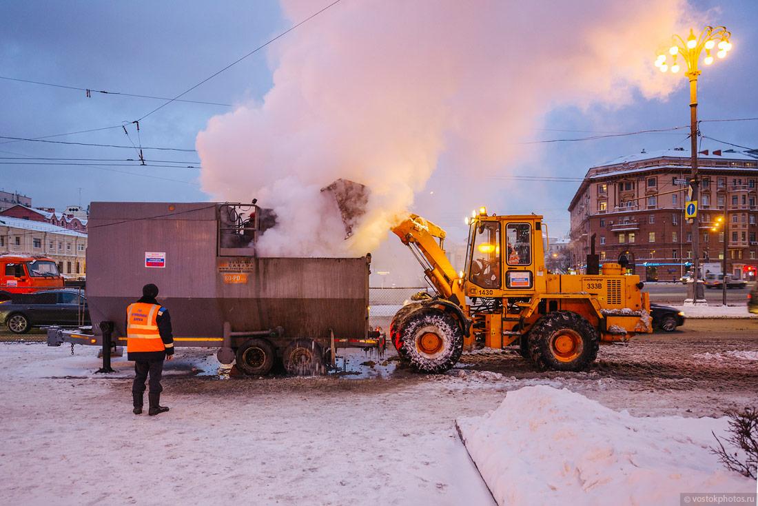 Как убирают снег в Европе и у нас (15 фото)