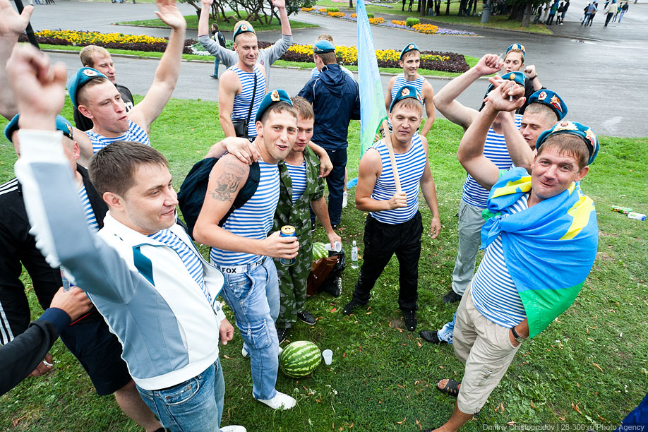 День ВДВ, 2 августа 2011.