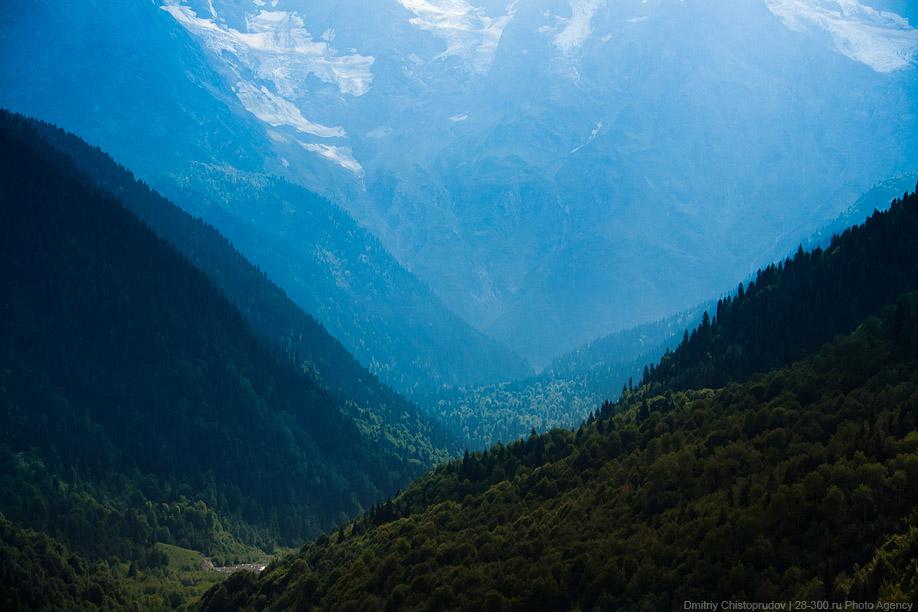 Поездка в Грузию. Часть 5. По дороге в Сванетию.