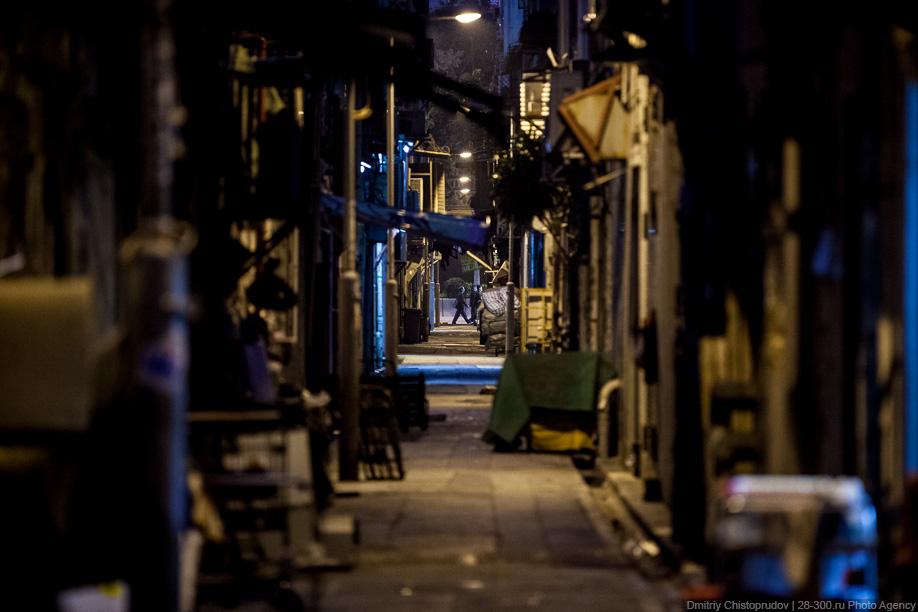 Гонконгские подворотни