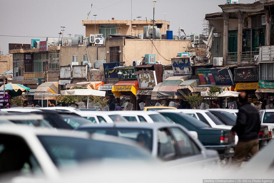 06 Иран. Город Кум и дорога в Исфахан, Иранские правила дорожного движения