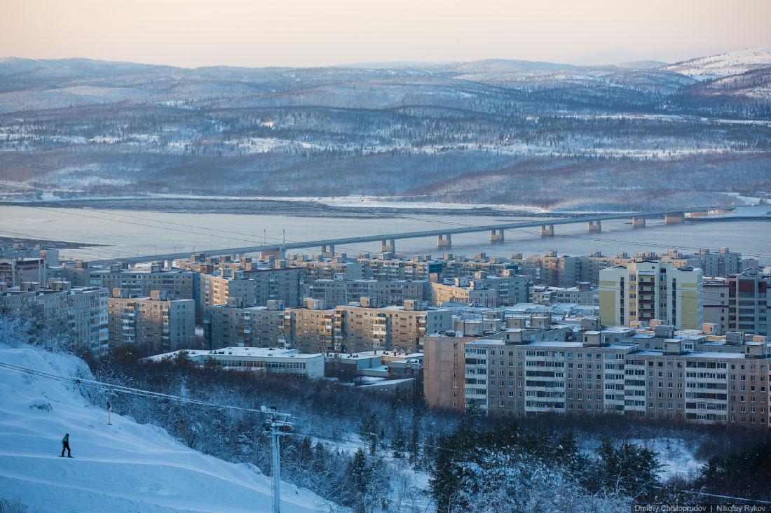 Мурманск. Самый большой в мире город за Северным полярным кругом ...