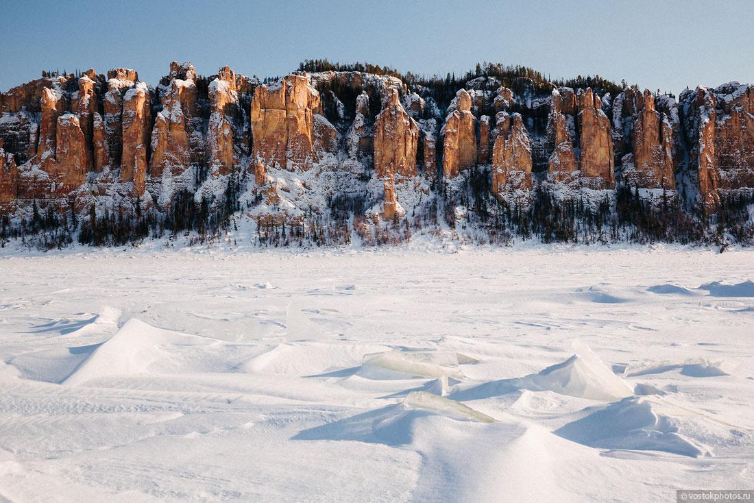 Ленские столбы, речной порт Жатая и десять буханок