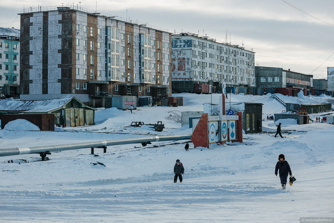 Жизнь на краю земли. Тикси, Якутия. Фото: chistoprudov.livejournal.com