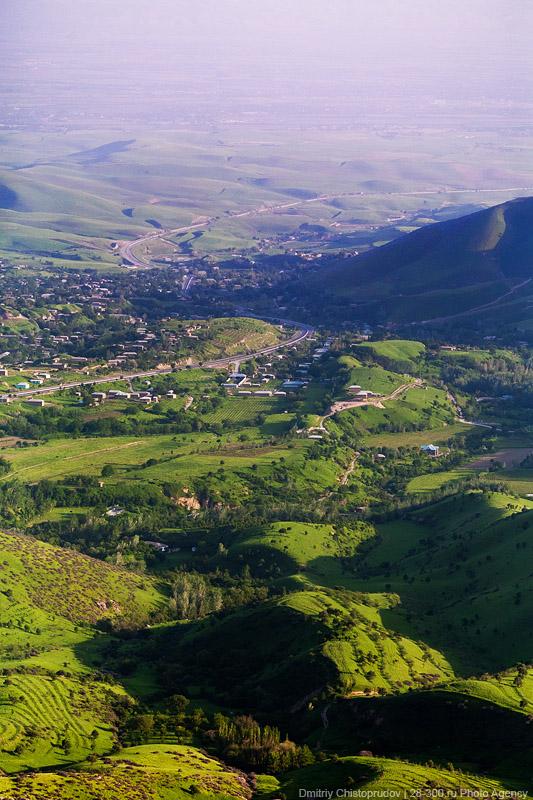 Где живут узбеки.